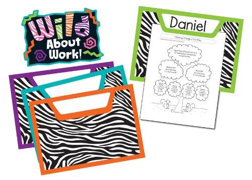 Jungle Classroom Decorations (Carson Dellosa Wild Style Work! Bulletin Board Set)