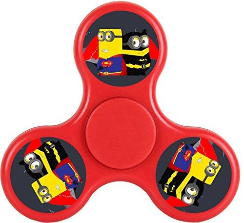 Minions Despicable Me 3 Black Minions Fidget Spinner Toy Cartoon Tri-Hands Stress Reducer EDC ADD ADHD