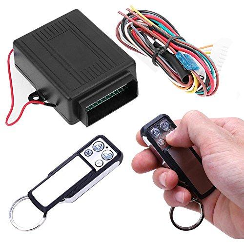2 Door Remote Protection Keyless Entry Central Lock Locking Kit + Car Alarm - 6