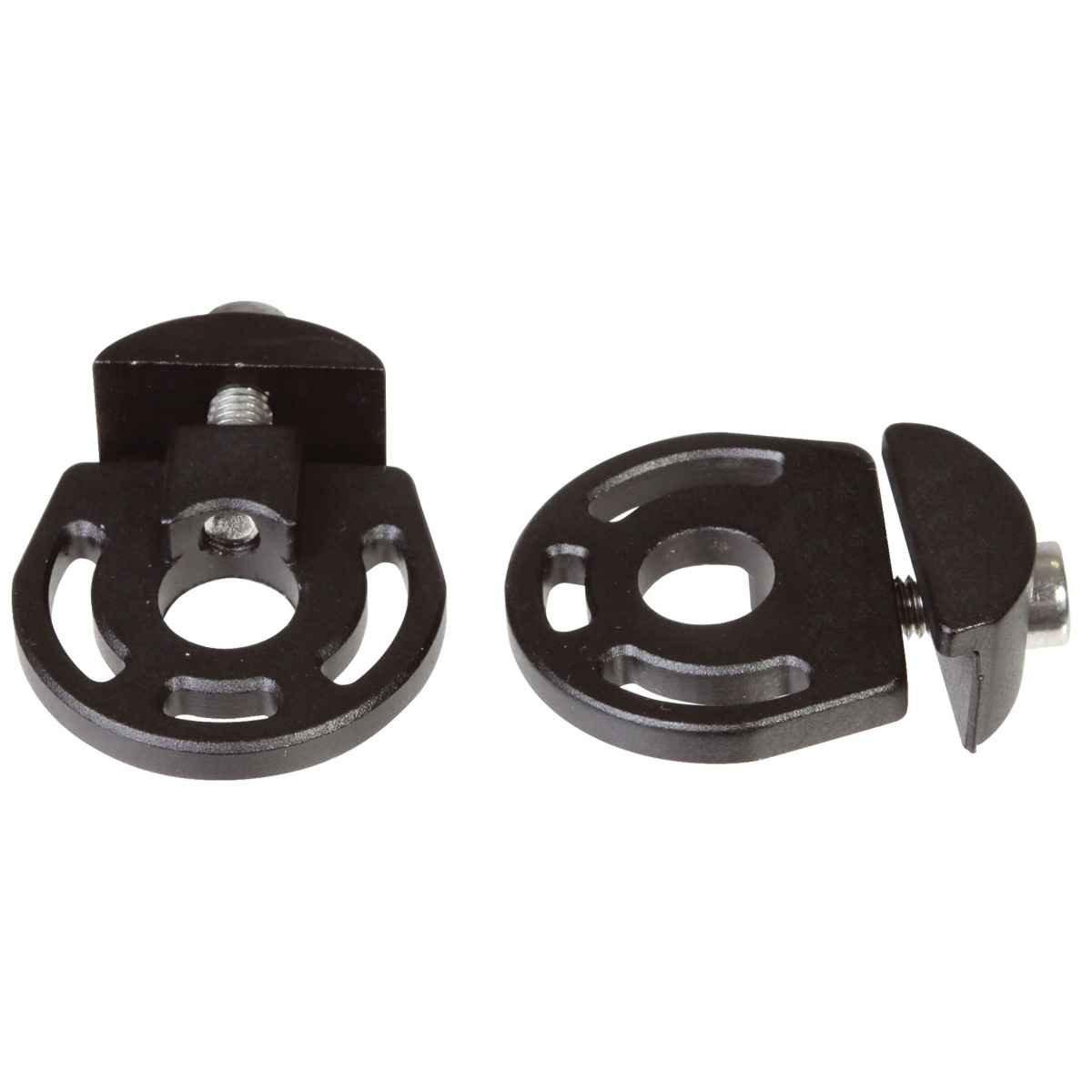 Gusset 2-Tugs axle tensioner, 10mm - black pr