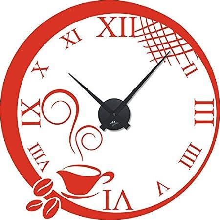 Reloj de pared con diseño de tatuaje de vs, reloj decorativo para ...