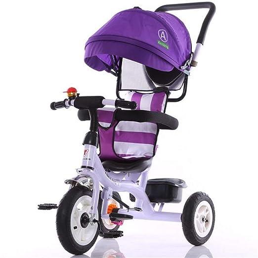 Triciclo Infantil Triciclo para niños Triciclo con triciclo para ...