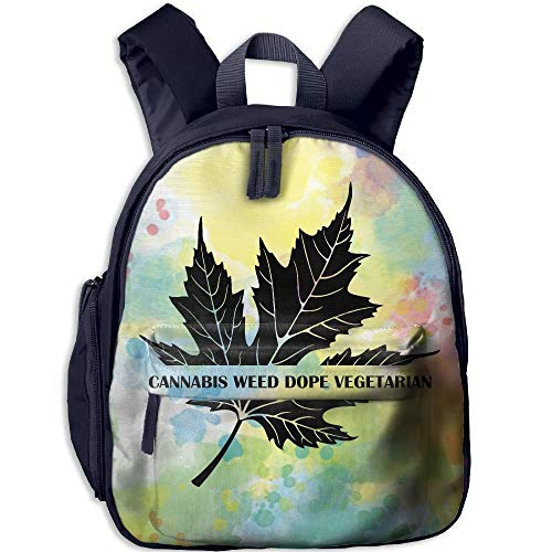 Kindergarten Backpack Toronto Maple Leaf Children School Bag]()