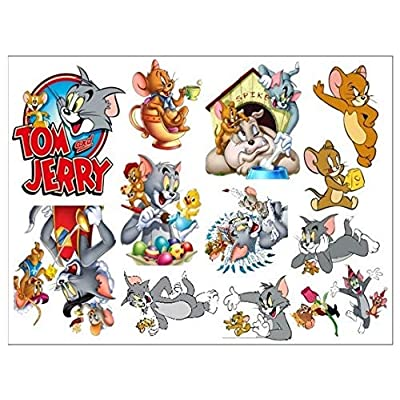 Assemble Peel and Stick Decal Stickers for Wall, Luggage and More. Tom Jerry: Arts, Crafts & Sewing