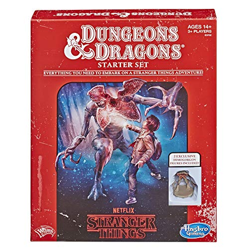 Hasbro Gaming Stranger Things Dungeons & Dragons Roleplaying Game Starter Set ()