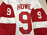 Gordie Howe Autographed Signed Custom Detriot Red Wings Jersey Inscribed MR HOCKEY COA & Hologram