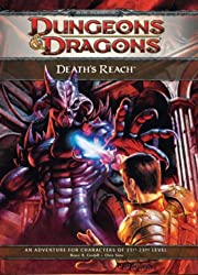 Death's Reach: Adventure E1 for 4th Edition D&D (D&D Adventure)