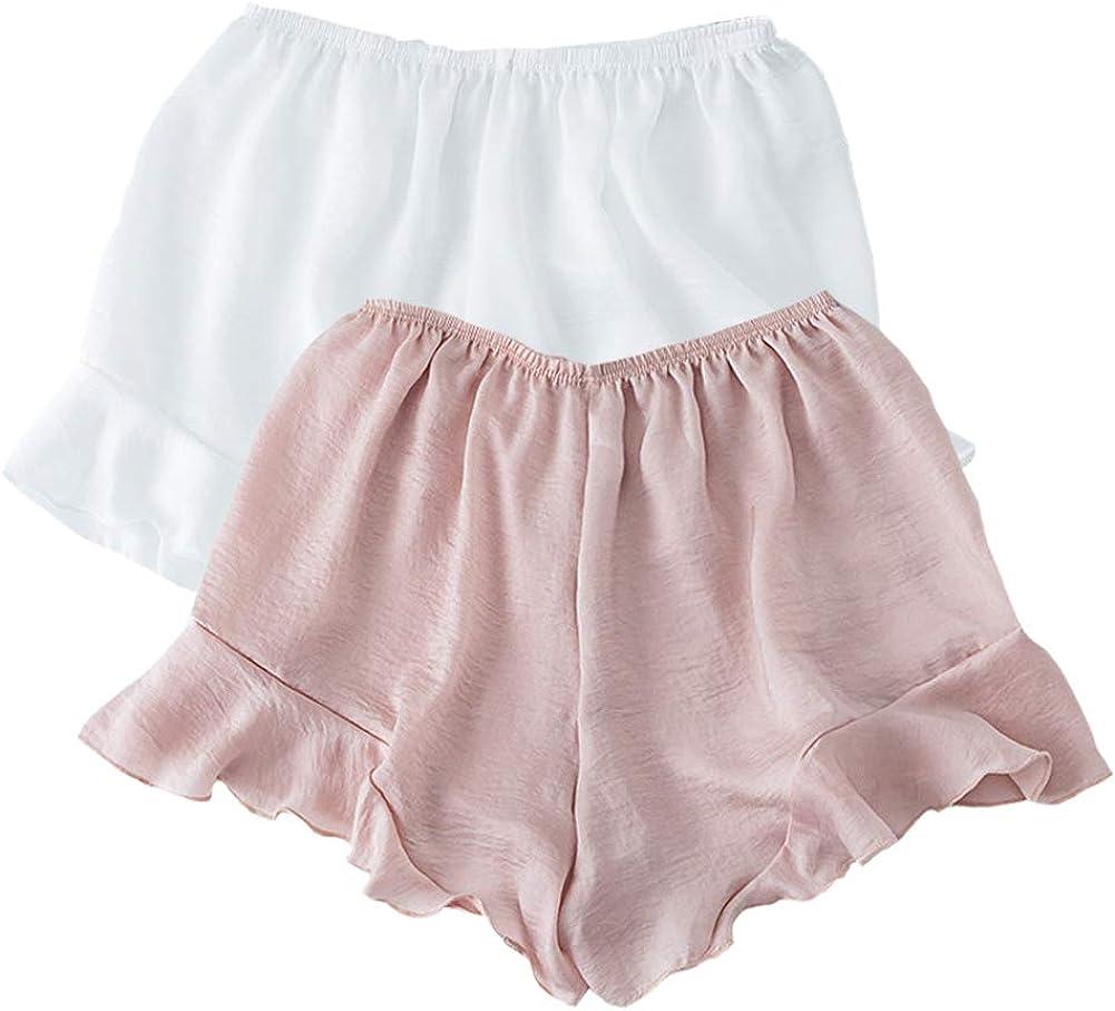 Pantalones Debajo Falda Culotte Ruffle Pantalones de Seguridad ...