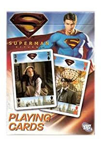 Superman Returns Collectibles Poker Playing Cards - The Movie Deck