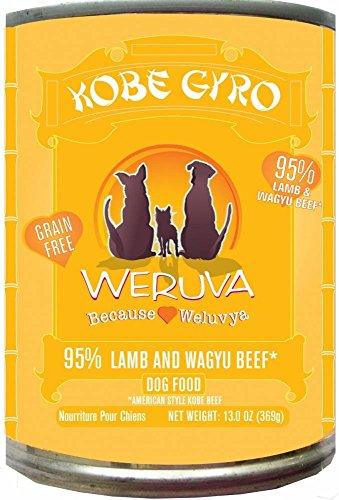 Weruva Kobe Gyro Lamb Formula with Kobe Beef Canned Dog Food