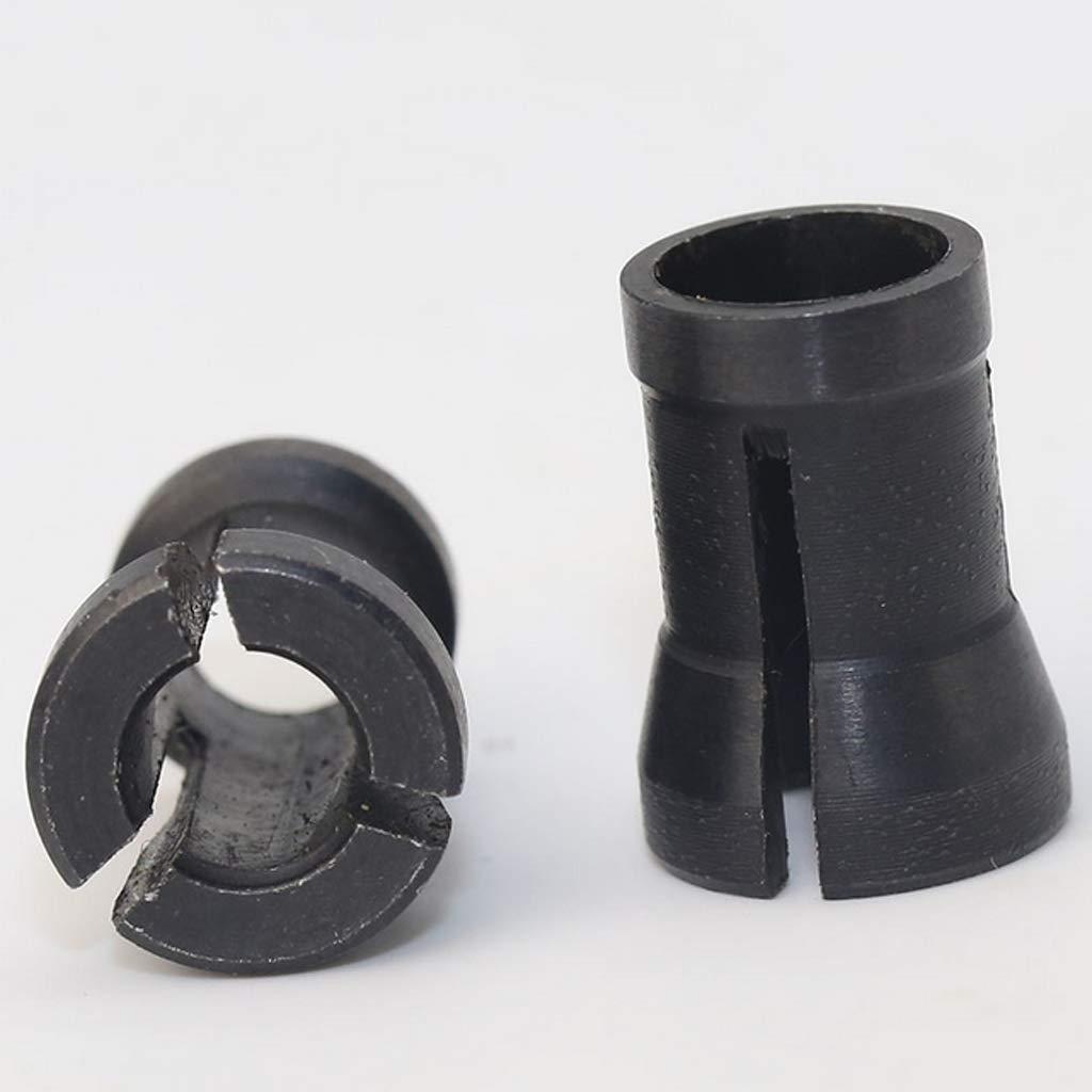 8mm Carbide Power Spannzangenfutter F/ür Fr/äsen Bits CNC Router amagogo 6mm 6,5mm 8 mm