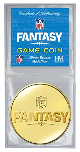 Signature Coin Set (NFL Fantasy Football Game Coin, 8