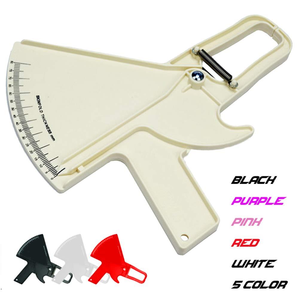 Alivier Outil de mesure de pli cutan/é d/épaisseur de graisse de corps de 80mm