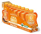 Mamma Chia Organic Vitality Squeeze Snack, Mango Coconut, 8 Count (Pack of 2) For Sale