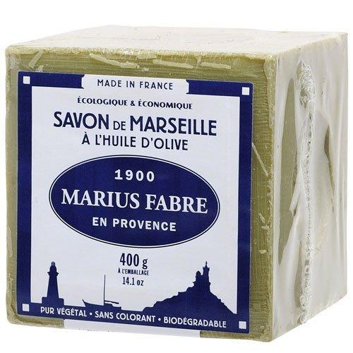 Marius Fabre Olive Oil Marseilles Cube Soap Vintage Box 400g 14.1oz