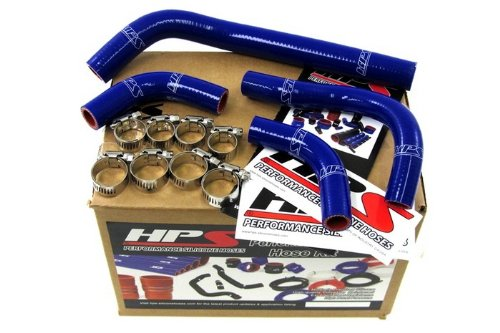 57-1234-BLUE HPS Silicone Radiator Hose Kit for Honda CRF250R