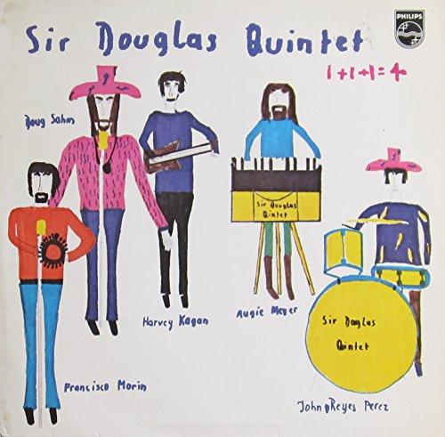 SIR DOUGLAS QUINTET - 1+1+1=4 PHILIPS 600344 (LP vinyl record)