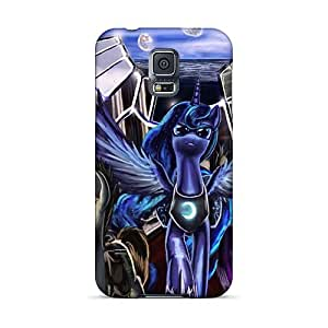 Samsung Galaxy S5 MZL1835MsWp Custom High-definition Colorful Pain Mlp Pattern Perfect Hard Phone Covers -DeanHubley