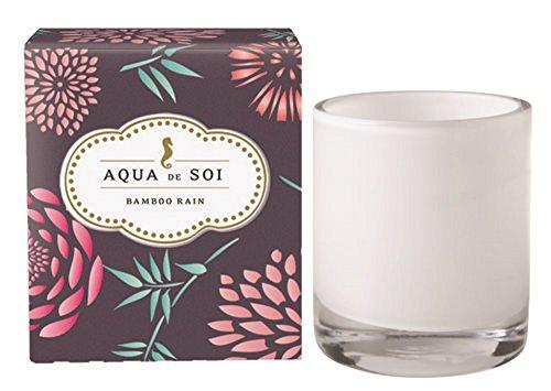 SOI Company Aqua de SOi 100% Premium Natural Soy Candle, 11 Ounces Boxed Jar (Bamboo ()