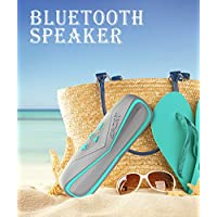 Hifi Wireless Bluetooth Speaker - Ephvan Rugged IPX7 Waterproof Dustproof Shockproof Portable Outdoor Bluetooth 4.1 Speaker with TF and Aux for iPhones , Tablets, Laptops, (Blue)