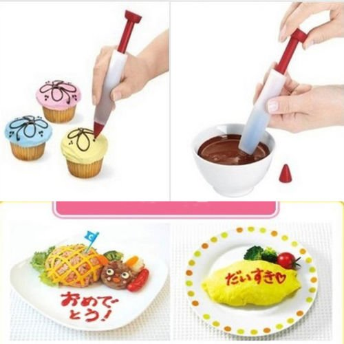 BESTIM PRACTICAL Silicone Biaohua pen for biscuits pastries chocolate cake with cream decorated Cream Chocolate Biscuit