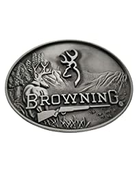 Deer Browning Hunting Belt Buckle