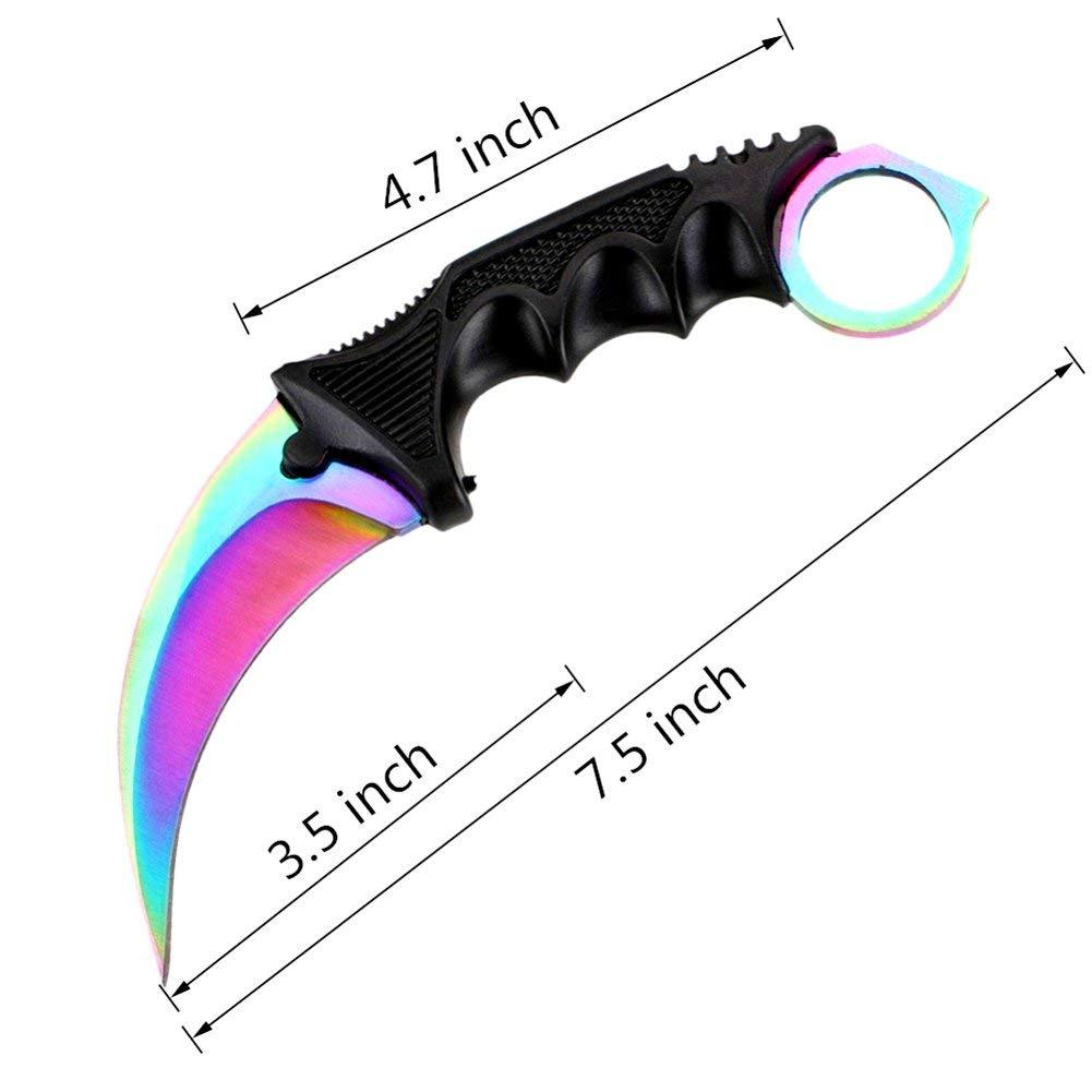 Amazon.com: Wetop Karambit CS-GO - Cuchillo de acero ...
