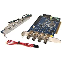 GeoVision GV-600-4 Analog D1 Computer PCI-E Video Capture Card