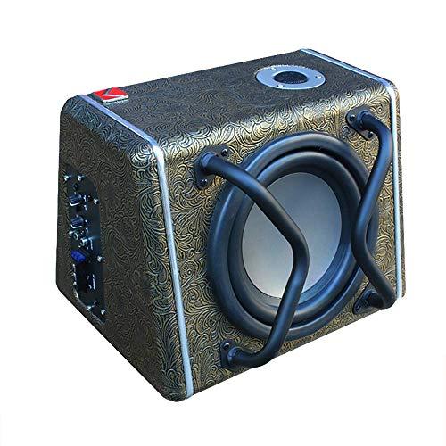 LIDAUTO Car Subwoofer 12V Speaker 90-900W Car Audio Sub Woofe 8 inch High Power Amplifier Super Bass