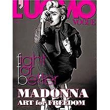 Amazon luomo vogue magazine books luomo vogue magazine may june 2014 madonna cover fandeluxe Choice Image