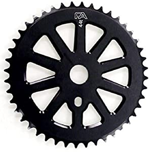 Free Agent Sprocket, CNC, 43T, Black by FREE AGENT