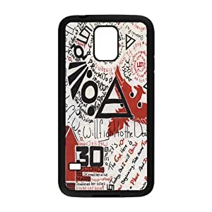Customize Rubber Samsung Cover 30 Seconds To Mars Back Case Suitable For Samsung Galaxy S5