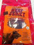 (2 pack) Trader Joes's Natural Beef Jerky Smoked Teriyaki 4oz (113g)