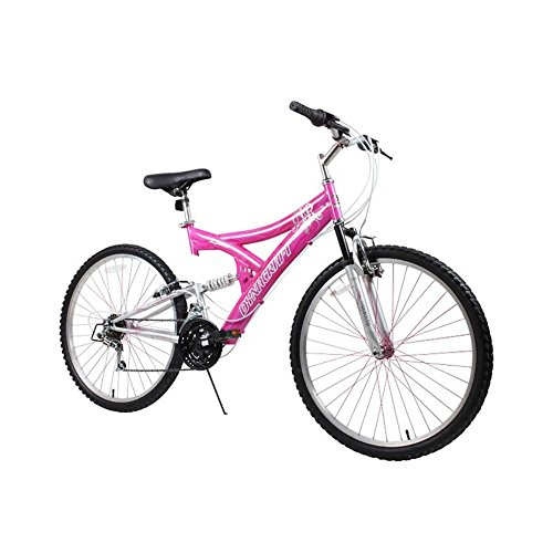 Dynacraft Women's 26' 21 Speed Air Blast Bike, 17.5'/One Size, Pink/White