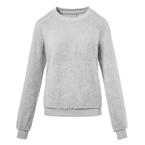 XUANOU Women's Casual Long Sleeve Crewneck Crop Top Sweatshirt Embroidery Hoodie Sweatshirts for Men Cotton
