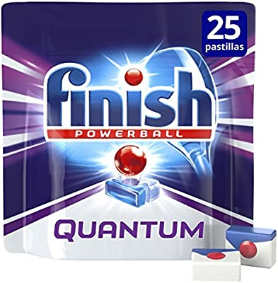 Finish Quantum Lavavajillas Pastillas Regular - 25 pastillas ...
