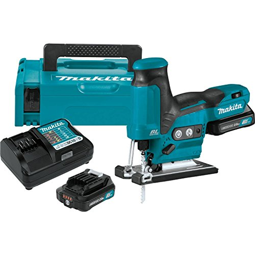 Makita VJ05R1J 2.0Ah 12V max CXT Lithium-Ion Brushless Cordless Barrel Grip Jig Saw Kit