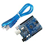 Solu® New UNO R3 Rev3 Development Board AVR USB for Arduino(cheap, but Not for Beginners,since Replacing the 16u2 (Usb Chip), It Is Cheap, but You Need to Download the USB Driver From Our Web Site, so It Is Not Very Suitable for Beginners, While It Is Also Not so Hard, Which Is Worth a Try.)
