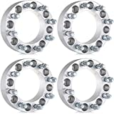 "ECCPP Compatible fit for Wheel Spacers 8x6.5, 4X 8 Lug 2"" 8x6.5 to 8x6.5 Wheel Spacers compabitility 99-10 GMC Sierra 2500HD 3500HD"