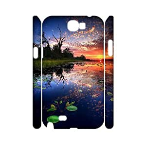 Sunset Phone Case For Samsung Galaxy Note 2 N7100 [Pattern-1]