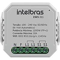 Interruptor inteligente Smart IZY intelbras Controlador de Cargas Wifi 1/1 EWS 211 Branco
