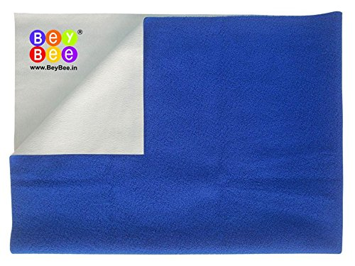 Bey Bee – Quick Dry Baby Bed Protector Waterproof Sheet (Royal Blue)