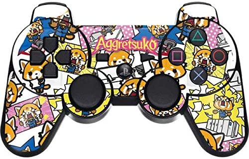 Officially Licensed Sanrio Aggretsuko Breaking Point Design Skinit Decal Gaming Skin for Xbox One Elite Controller