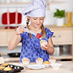 """STONEKAE Silicone Baking Mat, Thicker Non-Slip Board with Measurements for Rolling Dough, Fondant, Pie, Cookie.16""""x24"""" Large Non-Stick + Pastry Brush 10 COST EFFECTIVE AND HEALTHY» 100% food grade silicone, Don't worry about the food made on it will be harmful to the body.It is safe to use at a temperature of -45 degrees Fahrenheit to 450 degrees Fahrenheit and does not produce unpleasant chemical smell. DOUBLE THICKNESS,DURABLE AND LASTING» Thickness of the Silicone Pastry Mat is 0.075 inch and it's much thicker and durable. so it is very hard to crinkle and move as you roll out the dough.The mat is designed to be 16*24inch.It has a larger area to knead, make biscuits, make pizza and all related work. With a brush NON-STICK & EASY TO CLEAN» This mat is made of food grade silicone,so you will enjoy the best NON-STICK baking mat.No more scrubbing! Easy to wipe clean with warm soapy water and store it rolled in a drawer. Also dishwasher safe.When you don't use it, you can roll it up and store it."""