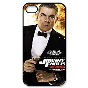 NABOAT Johnny English Mr bean Phone Case For Iphone 4/4s [Pattern-1]