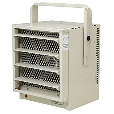 NewAir G73 Hardwired Electric Garage Heater, 17060 BTU, 240V