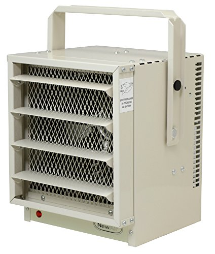NewAir G73 Hardwired Electric Garage Heater, Heats up to 750 square feet by NewAir