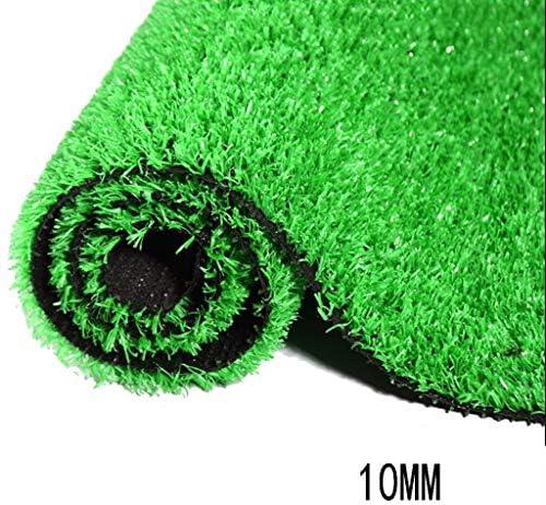 XEWNEG 人工芝グラスカーペットマット、暗号化された緑の人工芝生、バルコニーフェンス屋外装飾、10 Mmパイルの高さ (Size : 2x7M)