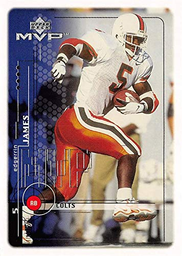 official photos d15db 33635 Edgerrin James football card (Miami Hurricanes) 1999 Upper ...