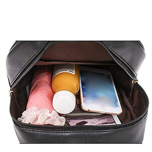 Amazon.com: Women Leather Backpack Teenage Backpacks for Girls Vintage Feminine sac a dos Femme Laptop 1012#23: Kitchen & Dining